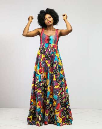 Segilola-Patchwork-Dress