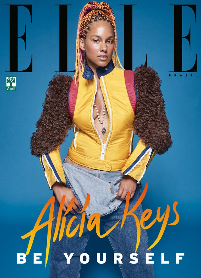 Be-Yourself-Alicia-Keys-is-Gorgeous-and-Bare-Faced-for-Elle-Brasil-Magazine-September-Issue-1