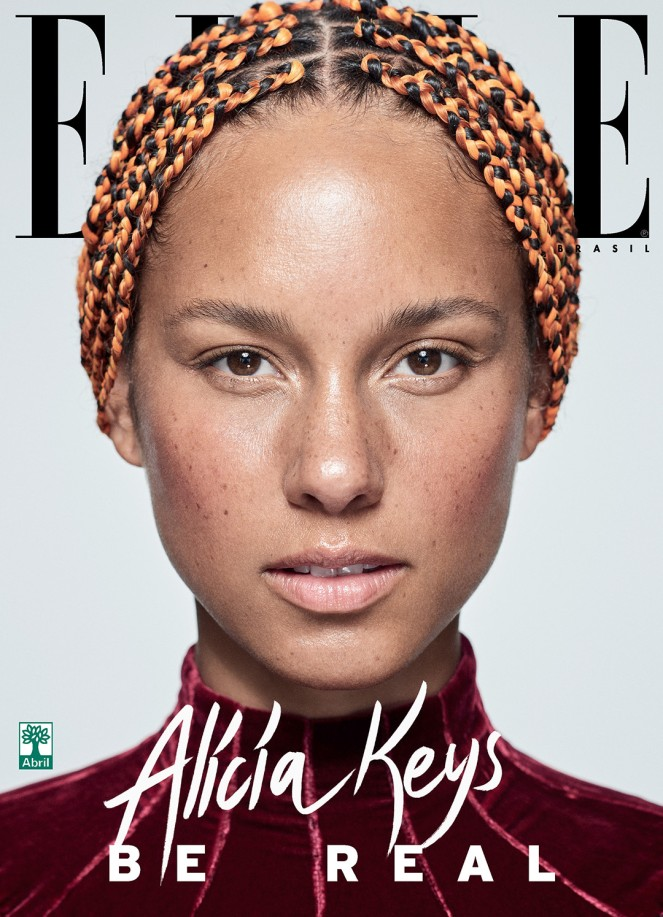 Be-Yourself-Alicia-Keys-is-Gorgeous-and-Bare-Faced-for-Elle-Brasil-Magazine-September-Issue-2
