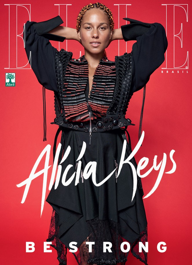 Be-Yourself-Alicia-Keys-is-Gorgeous-and-Bare-Faced-for-Elle-Brasil-Magazine-September-Issue-3