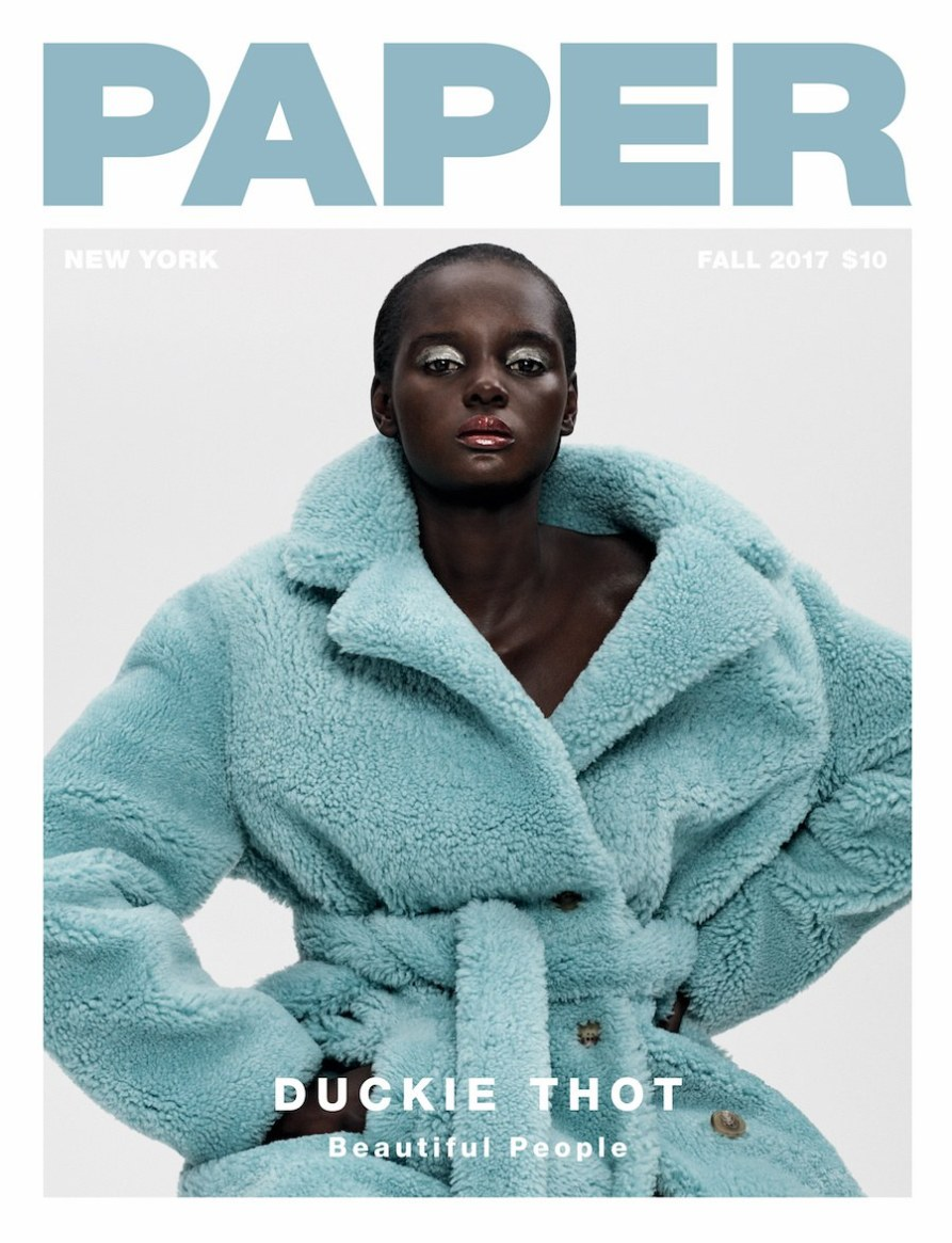 """Duckie-Thot-sprinkles-Black-Girl-Magic-on-Paper-Magazine-""""Beautiful-People""""-Cover-Edition"""