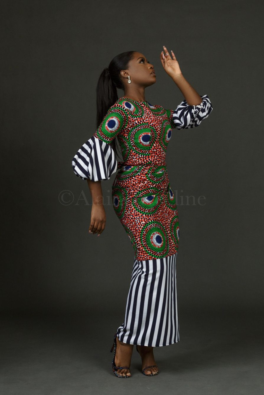 Ebi-Top-and-Faux-wrapper-set-Alaine-by-Celine