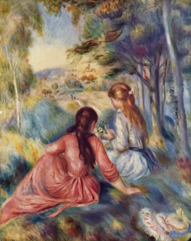 Pierre-Auguste_Renoir_In the meadow